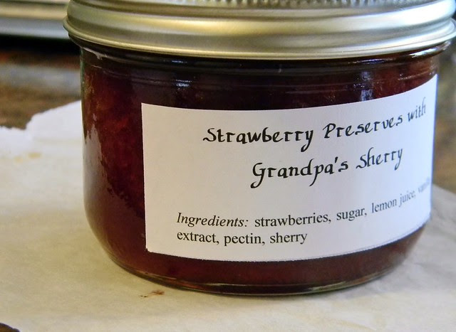 Berry Preserves with Grandpa's Sherry
