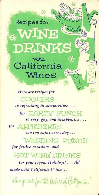 California Wines: Wine & Drinks