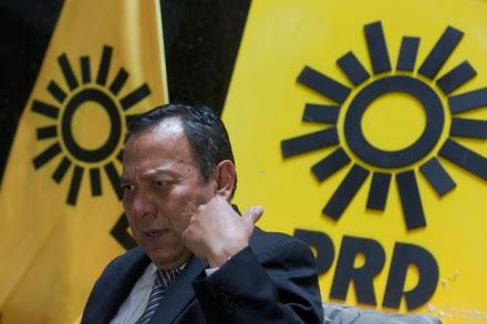 El presidente nacional del PRD, Jesús Zambrano. Foto: Octavio Gómez