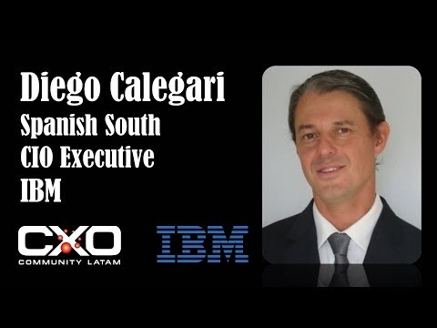 #Entrevista IBM Diego Calegari CIO South Cone @IBMArgentina @DieCale
