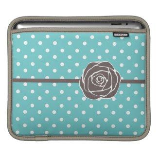 Vintage Rose iPad Sleeve