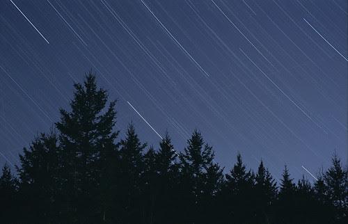 Kodak Gold 100 Test: Star Trail 1 by Nightfly Photography