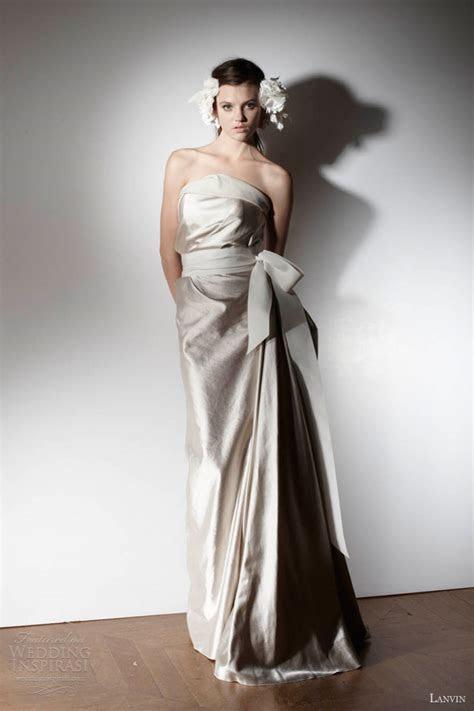 Lanvin Spring 2013 Wedding Dresses ? Blanche Bridal