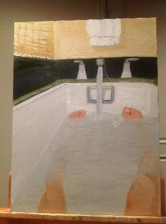 George W. Bush bathtub