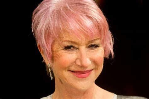 Best celebrity pink haircuts: Helen Mirren, Katy Perry, Pink, Gwen Stefani, Nicky Minaj and more