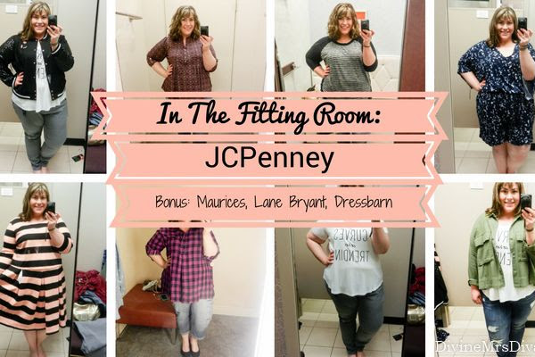 In The Fitting Room: JCPenney (Ashley Nell Tipton Boutique+ Collection) + Bonus Stops: Maurices, Lane Bryant, Dressbarn
