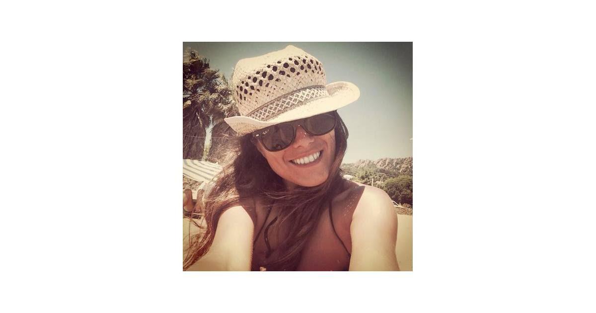 Karine Ferri : photo de ses vacances au soleil en juillet 2014