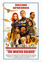Captain America: The Winter Soldier (3D) Poster