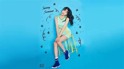 gfriend sunny summer   hd wallpaper