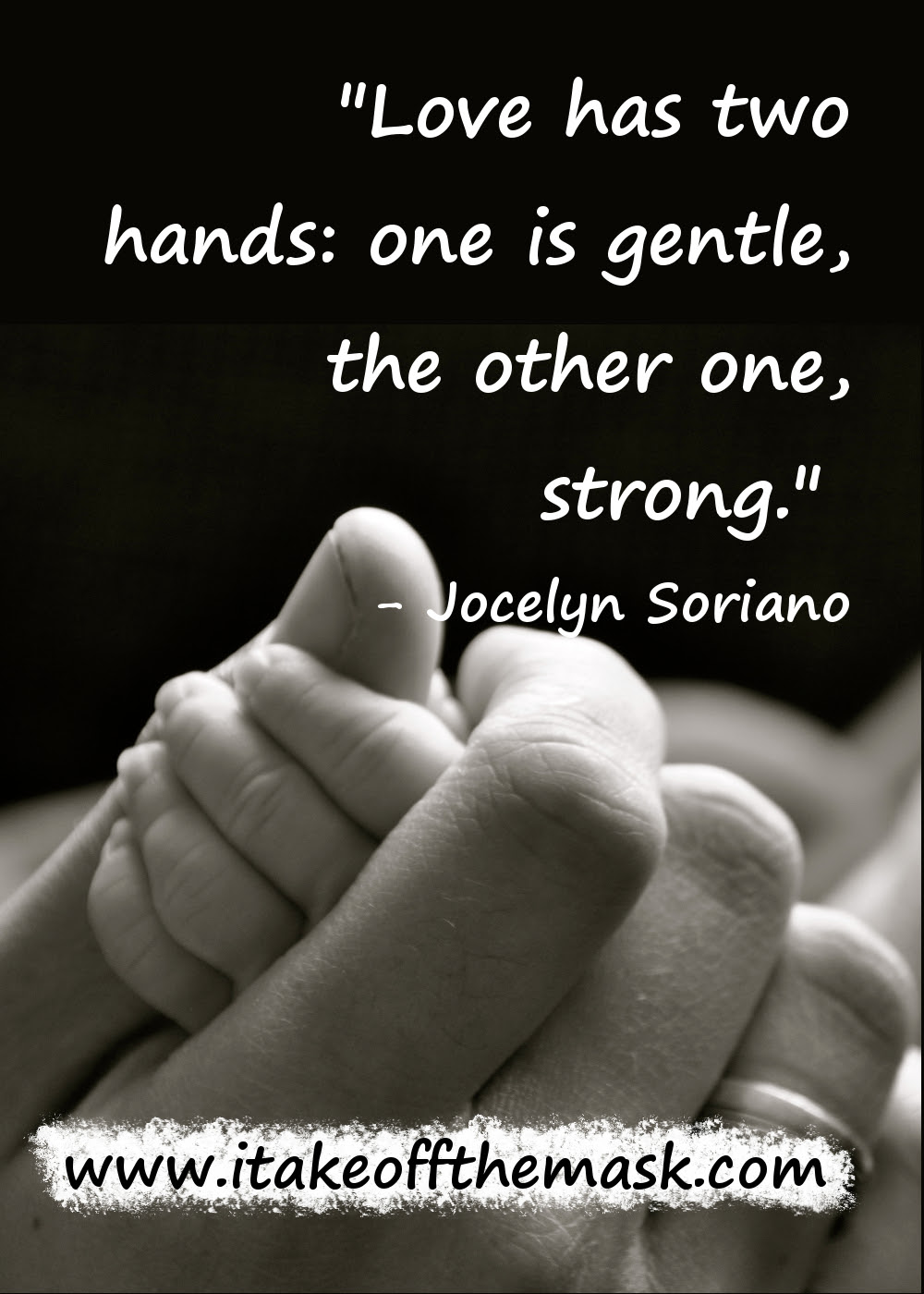 Love Has Two Hands Quotes Poems Prayers And Words Of Wisdom At