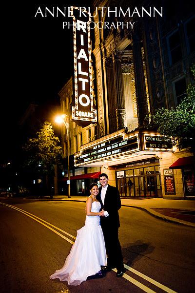 Rialto Theatre Wedding, Joliet, IL