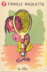 fam raquett fille