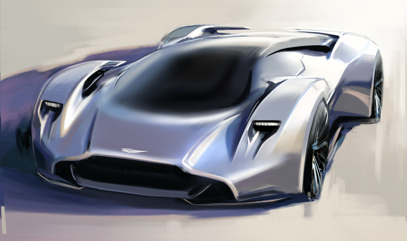 aston martin DP-100 vision gran turismo at goodwood festival of speed