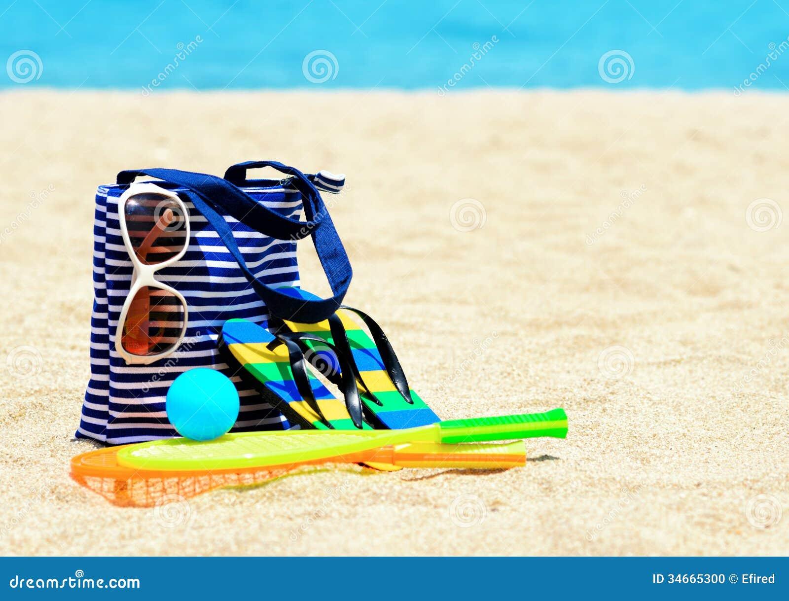Beach Accessories. C