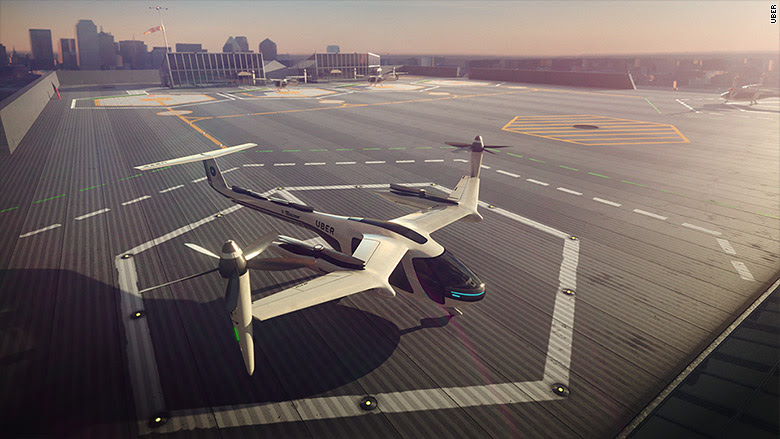 Uber's 'flying cars' could arrive in LA by 2020