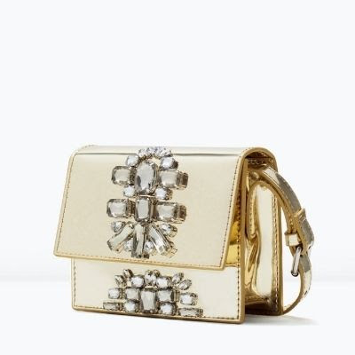 Zara Jewelled Cross-Body Bag