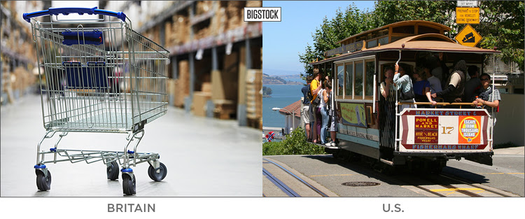 20 BRITISH WORDS THAT MEAN SOMETHING TOTALLY DIFFERENT IN THE U.S. trolley