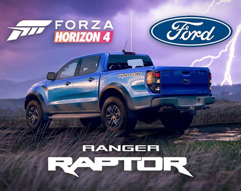 Ford Ranger Raptor Lands On Forza Horizon 4 Today