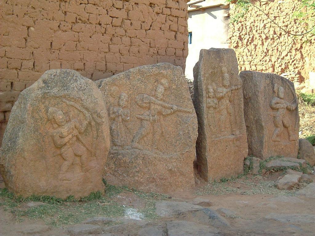 Memorial stones galore at Heggunda