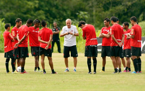 Dorival Junior Flamengo treino (Foto: Mauricio Val / VIPCOMM)