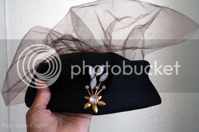 TinyAngryCrafts SDVFM vintage hat