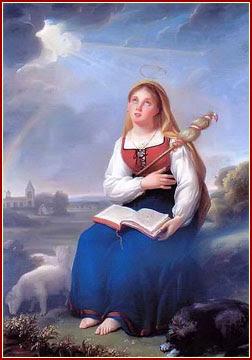SANTA GENOVEVA, Virgen