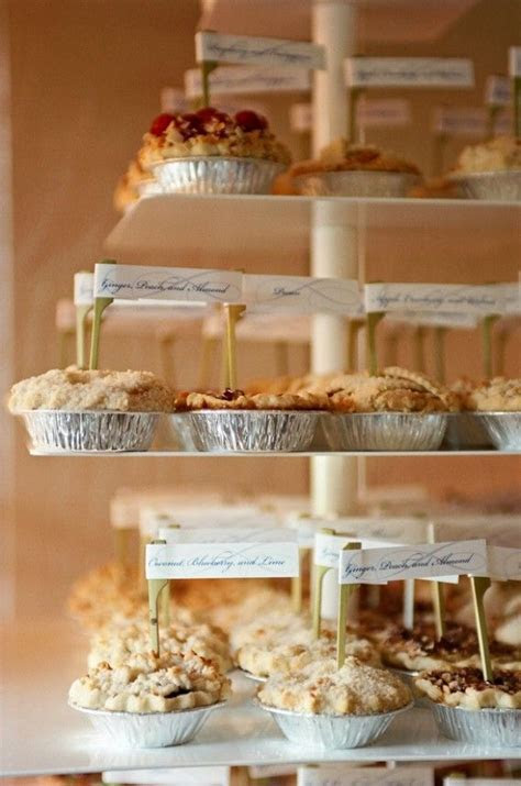 1000  ideas about Wedding Pies on Pinterest   Pie bar