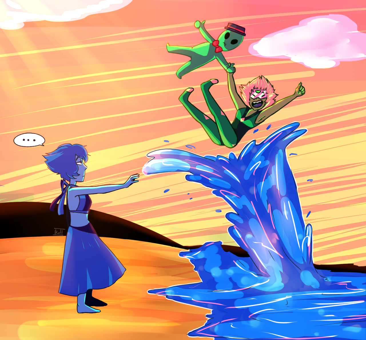 Well I just get back from work and this is what I did, yup, all my free time was used in this… LAPIDOT, HUE HUE !