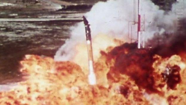 Cohete Vanguard de EE.UU.