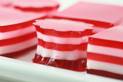 Valentine's 5 Layer Finger Jello