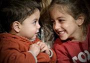Les enfants Sabeh, Perla et Antonio, sont tout... (Le Soleil, Pascal Ratthé) - image 3.0