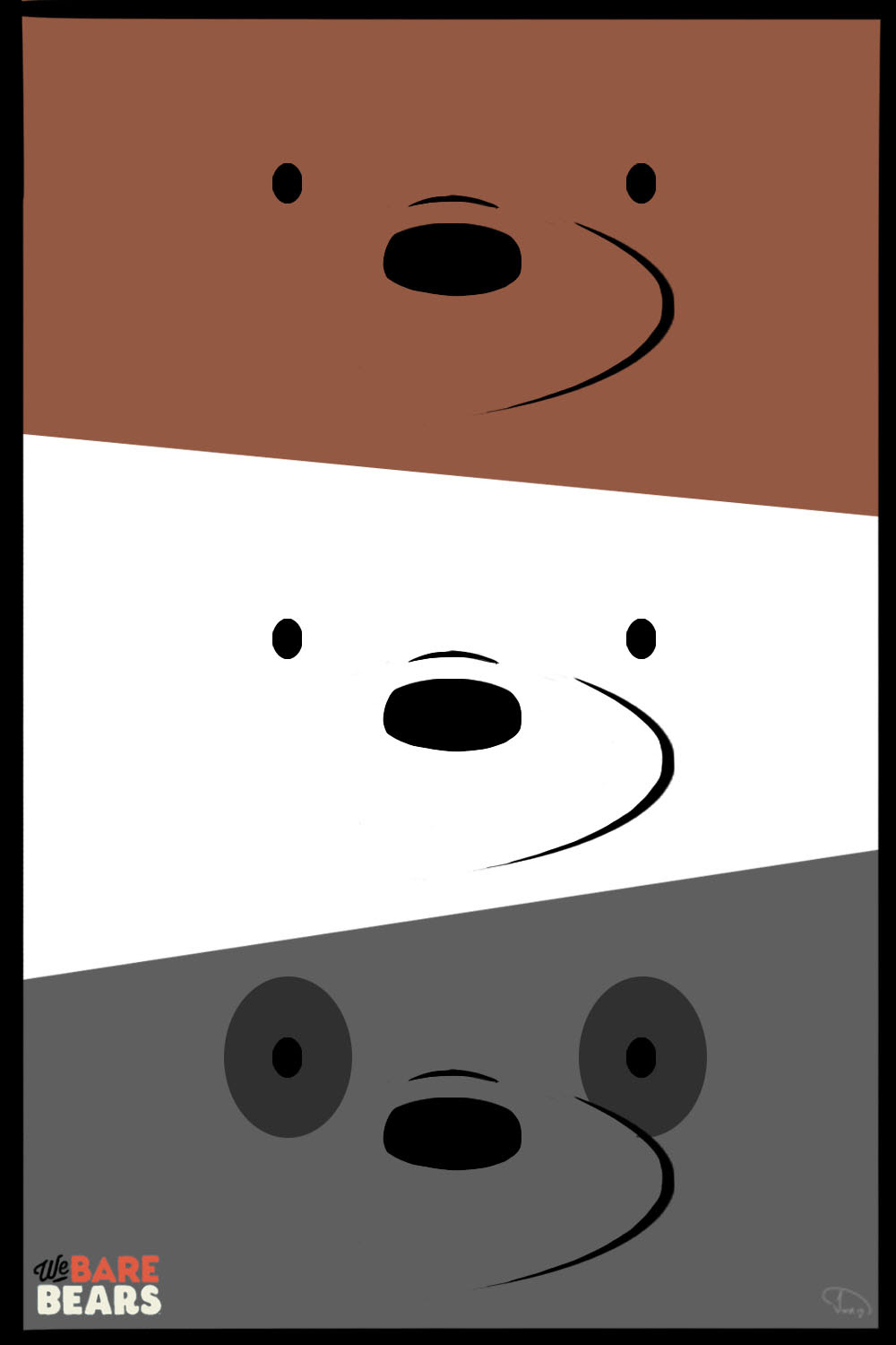 We Bare Bears! by JohnWRoberts on DeviantArt