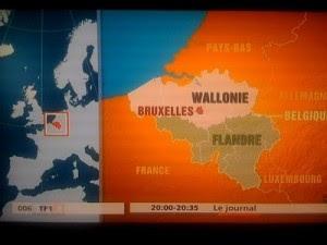Quand TF1 fait marcher la Belgique sur sa tete