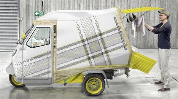 Bufalino, uma casinha sobre rodas