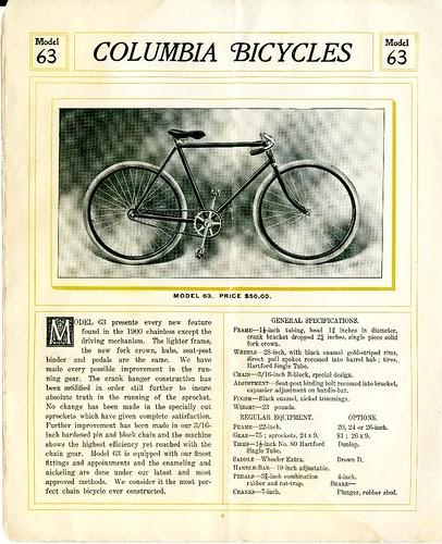Columbia Catalog 1900