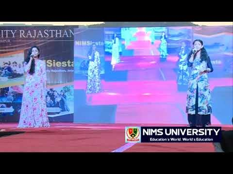 Nims Girls Singing Song in Freshers Party | Rozana | Sunn Raha Hai Na Tu