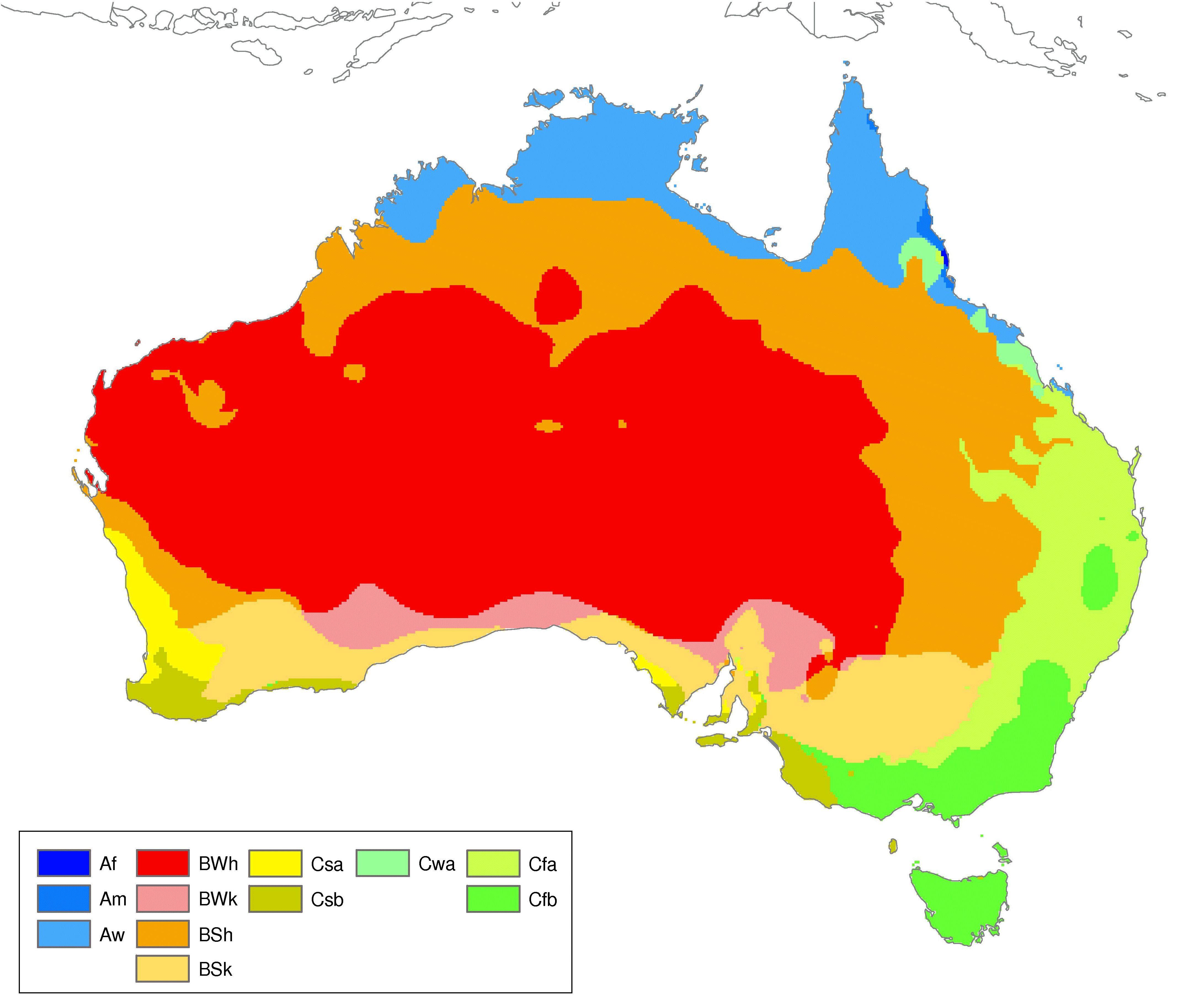 Koppen Climate Classification Chart - ClipArt Best