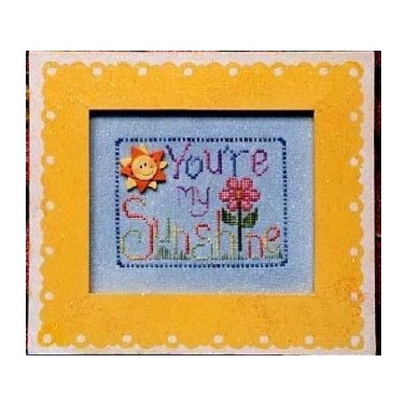 You Are My Sunshine Waxing Moon Designs Frame The Stitchery Nook