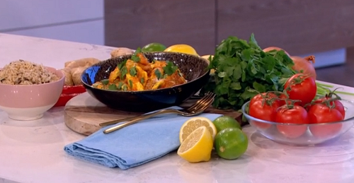 Phil Vickery spice lean chicken curry with rice recipe on ...