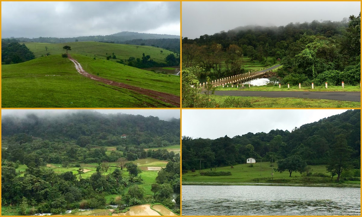Monsoon road trip from Bangalore 1 - Meadows and ...