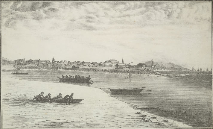 View of Bombay from Colaba.