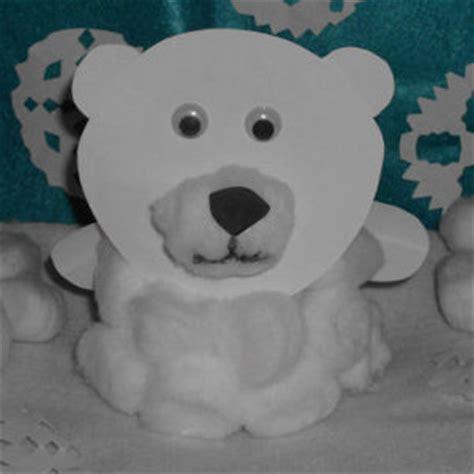 Paper Plate Polar Bear   AllFreePaperCrafts.com