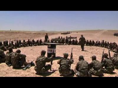 Afghan army bolsters training