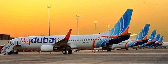 flyDubai 737s in Dubai