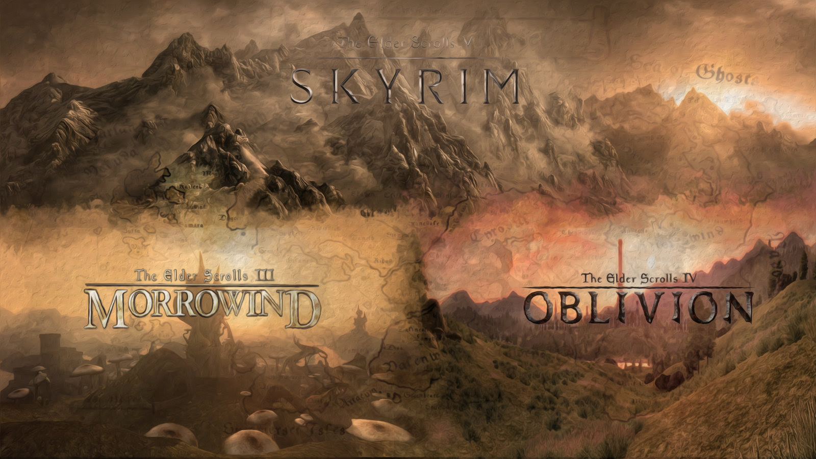 Elder Scrolls Wallpaper 1600x900 38404