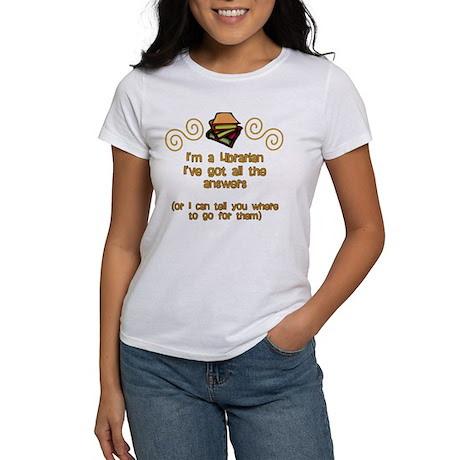 I'm a Librarian Women's T-Shirt
