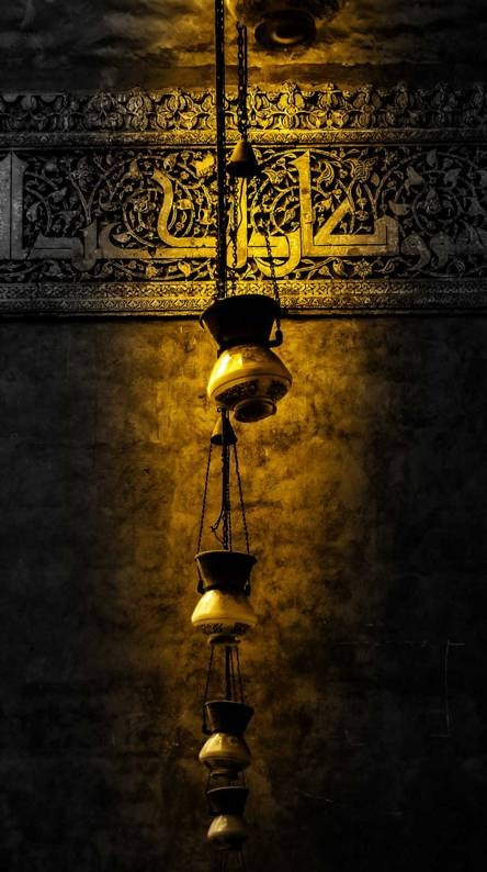 خلفية زخارف اسلامية بدقة عالية