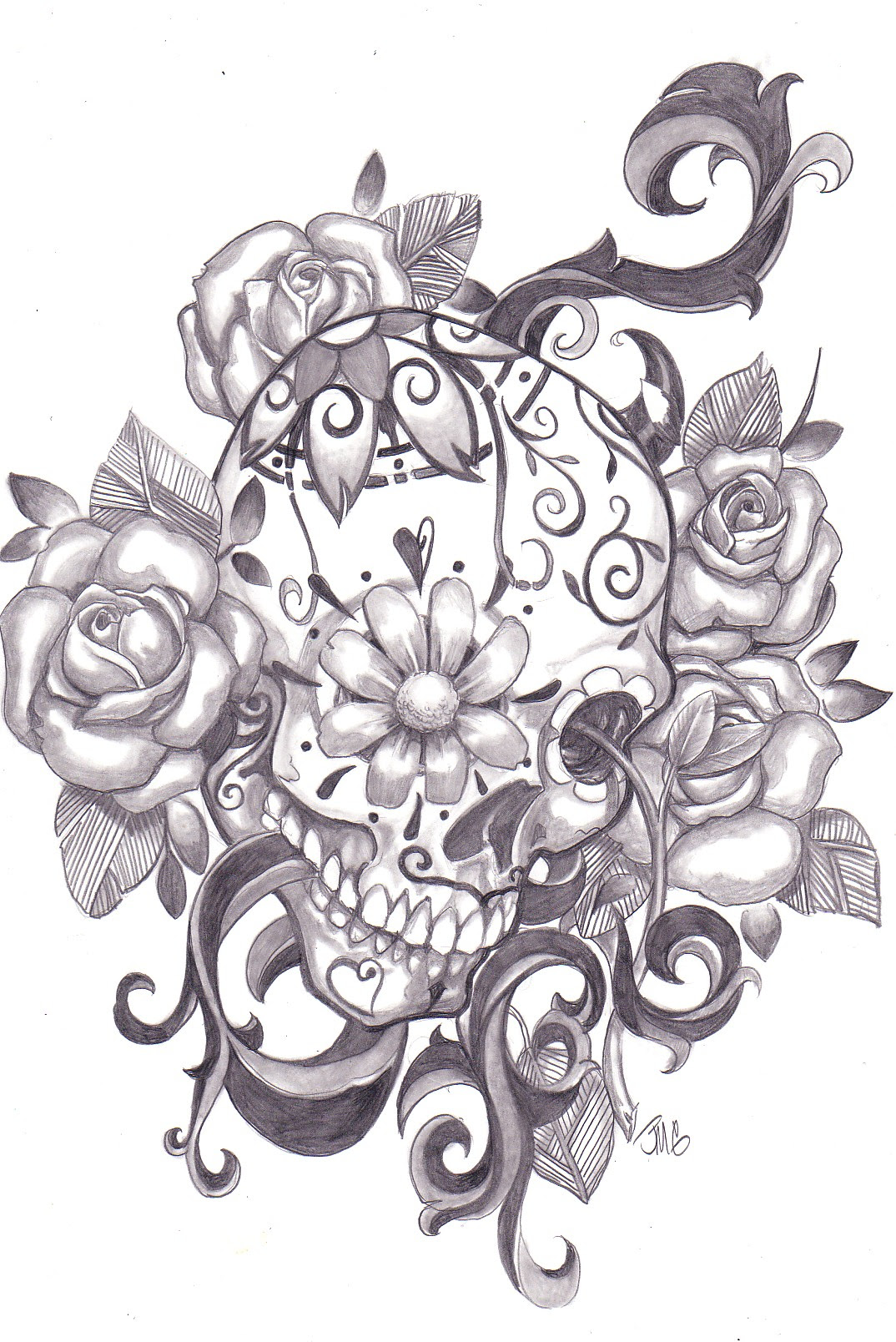 Sugar Skull Designs Inspiration From Mexican Folk Art Pixel77