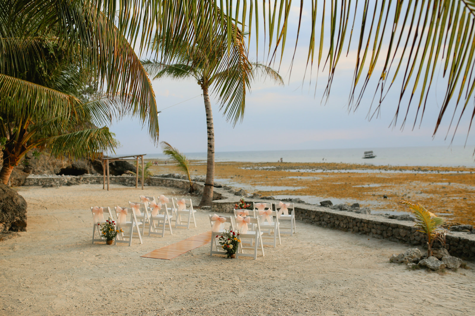 Moalboal Cebu Destination Wedding