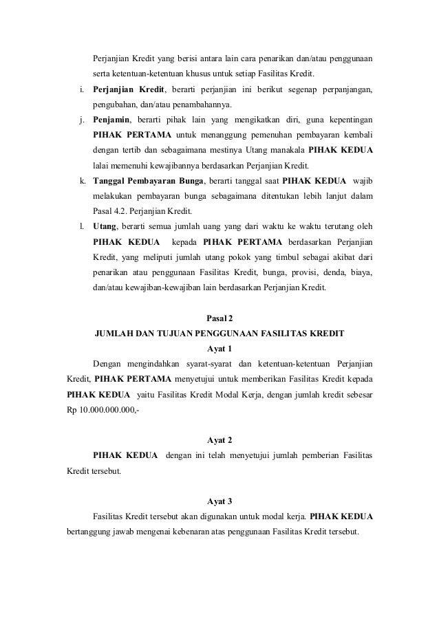 Contoh Surat Pernyataan Oper Kredit Mobil Contoh Dai